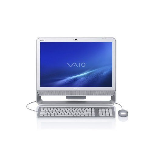 Black Friday 2014 Sony VAIO VGC-JS410F/S 20.1-Inch Silver All-in-One Desktop PC (Windows 7 Home Premium) from Sony Cyber Monday