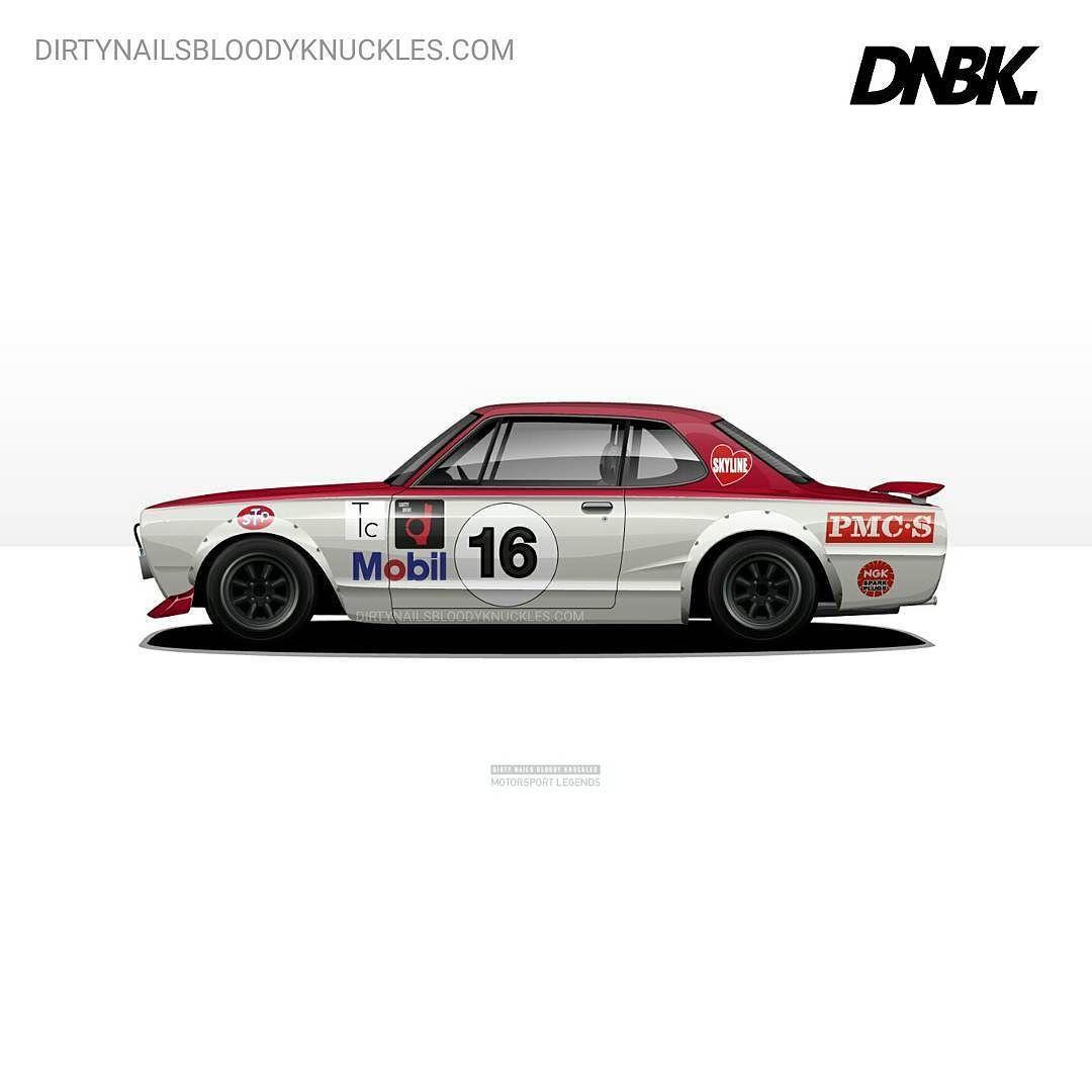 Fondo Escritorio Nissan Gtr Cobra: Legend. Artwork Available At Dirtynailsbloodyknuckles.com