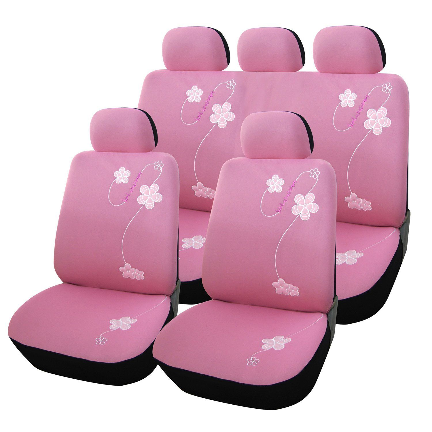 Girly Car Seat Covers and Mats for Women (With images