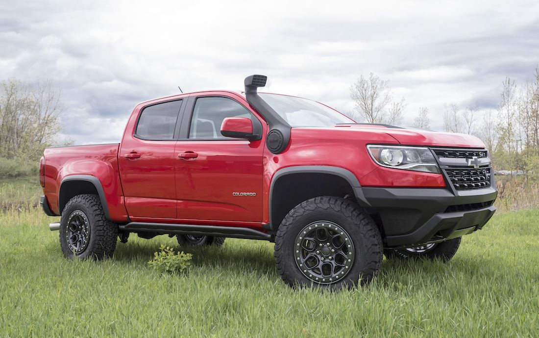 Bison Chevy Colorado Is Getting A Snorkel Kit And Beadlock Wheels