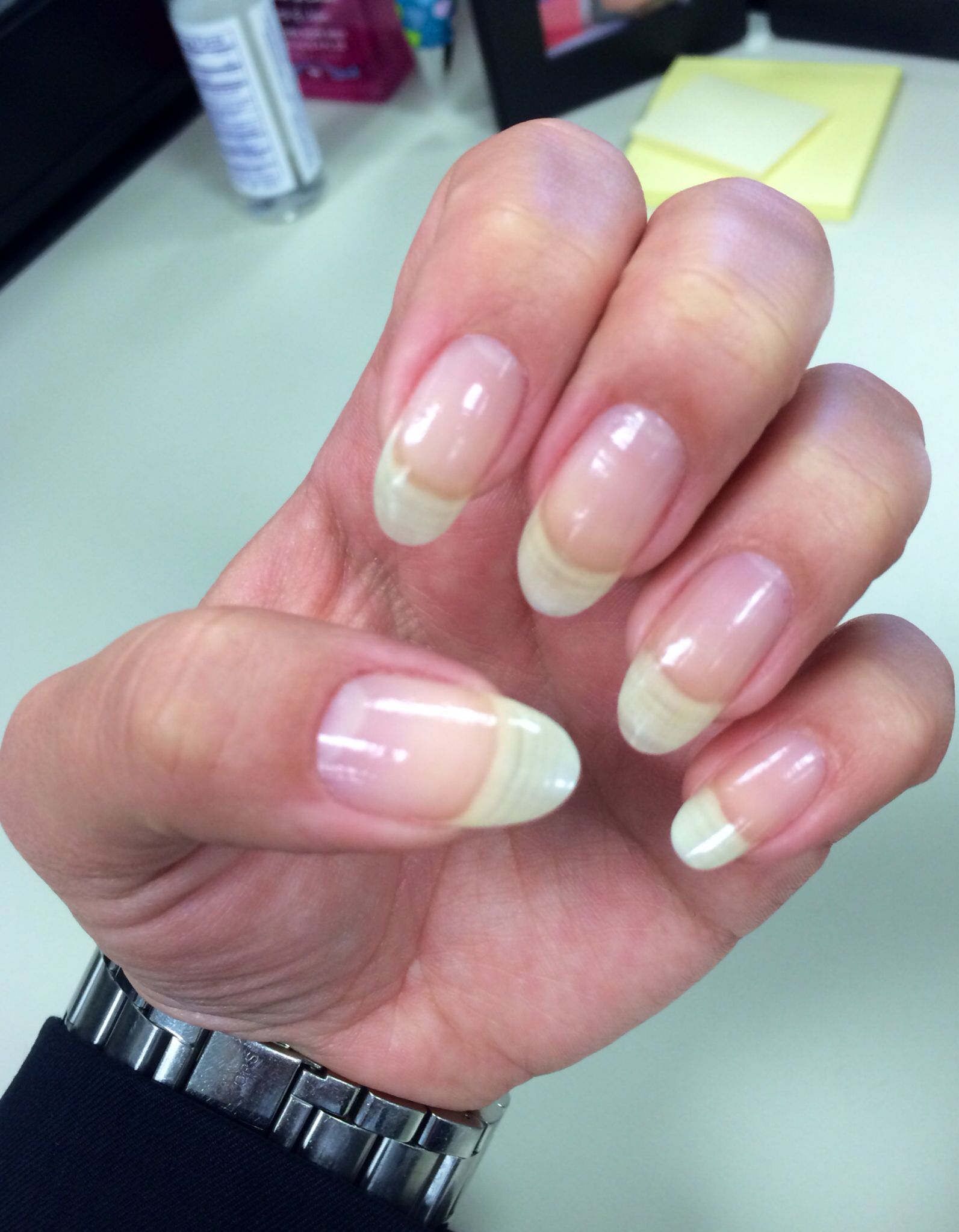 Natural Long Nails Almond Shape Real Nails