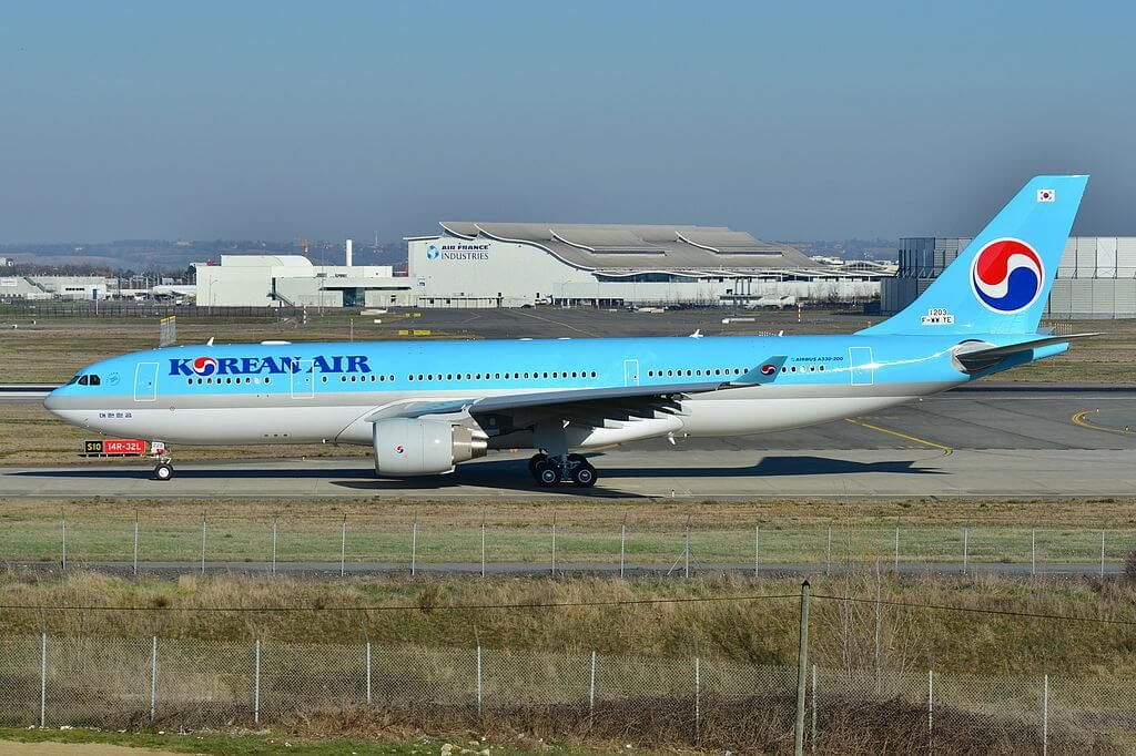 Korean Air Fleet Airbus A330200 Details and Pictures