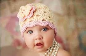 Resultado de imagen para gorros de bebes