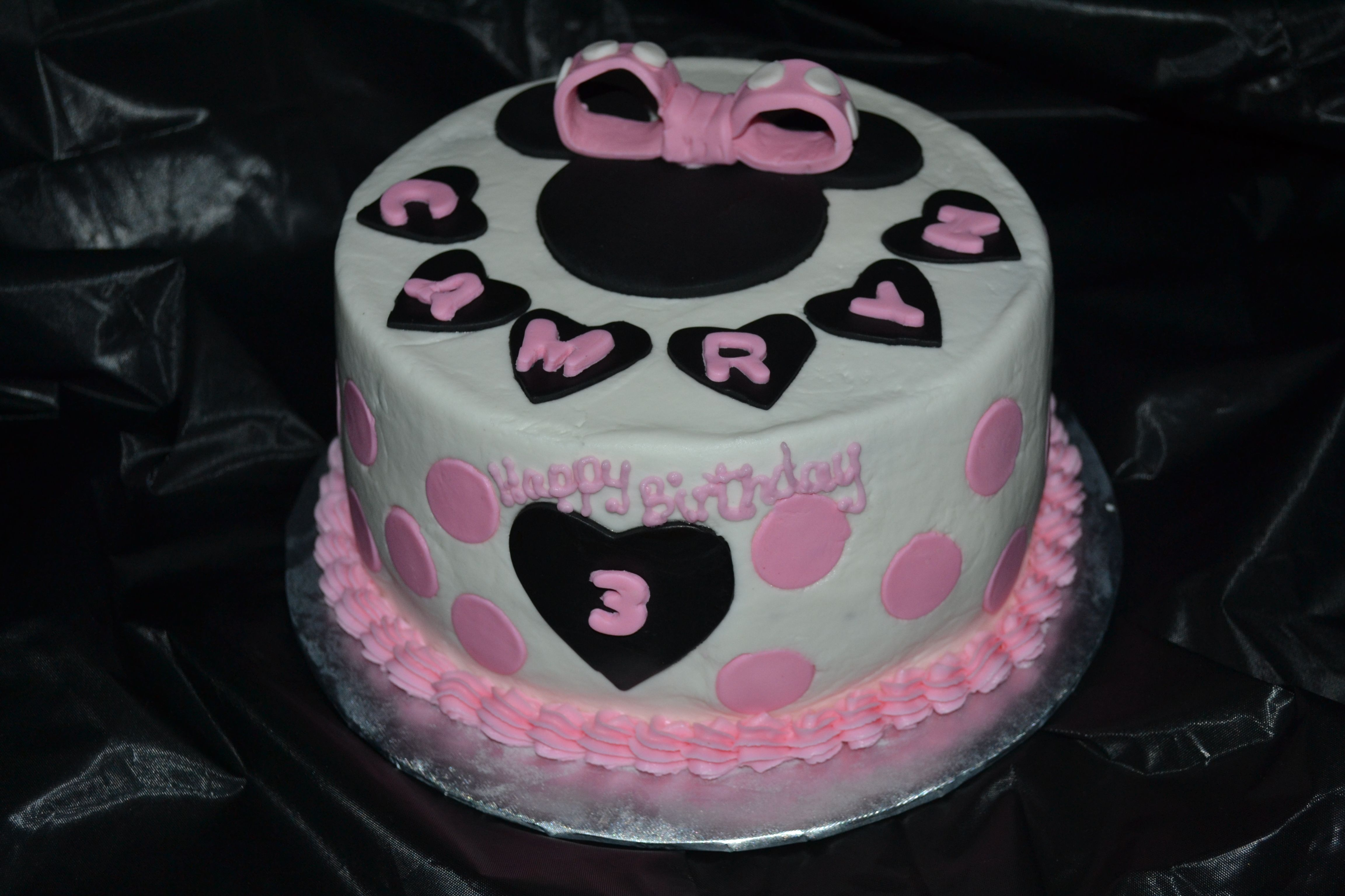 Disney Themed Cakes Disney Themed Cakes Minnie Mouse Cake Cake