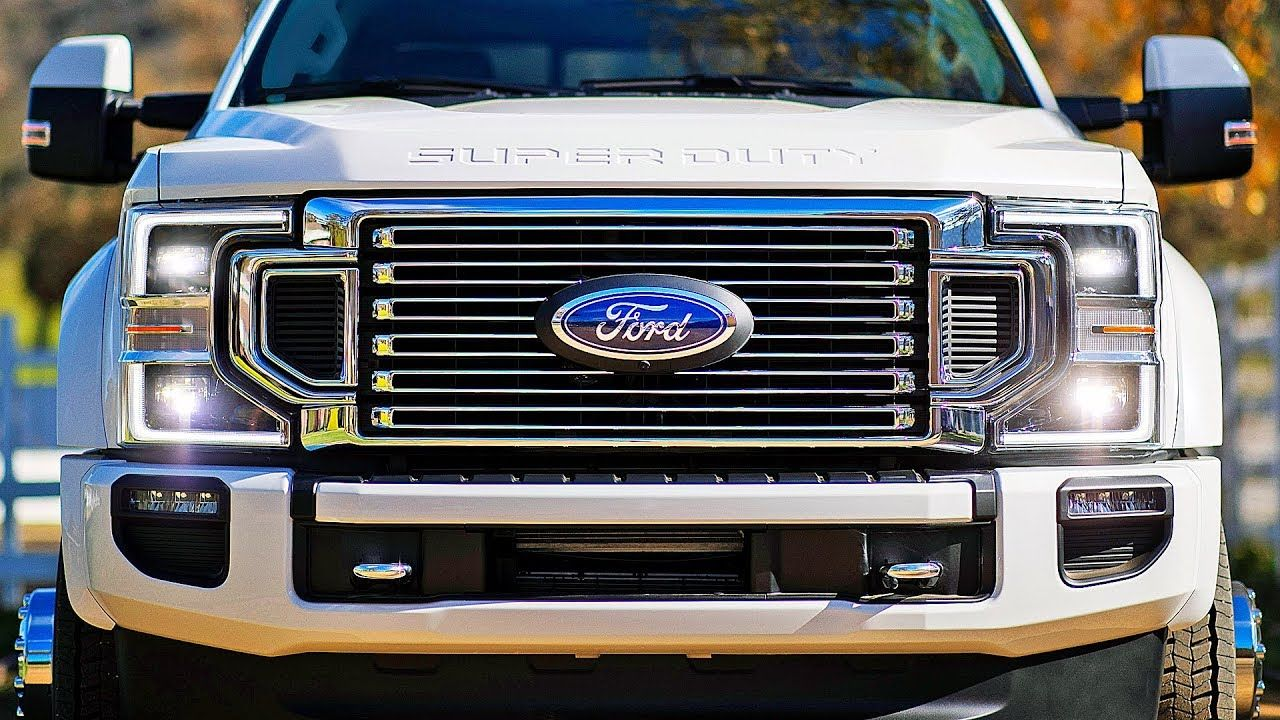 2020 Ford F Series Super Duty Powerful Hd Pickup Truck Camionete Carros