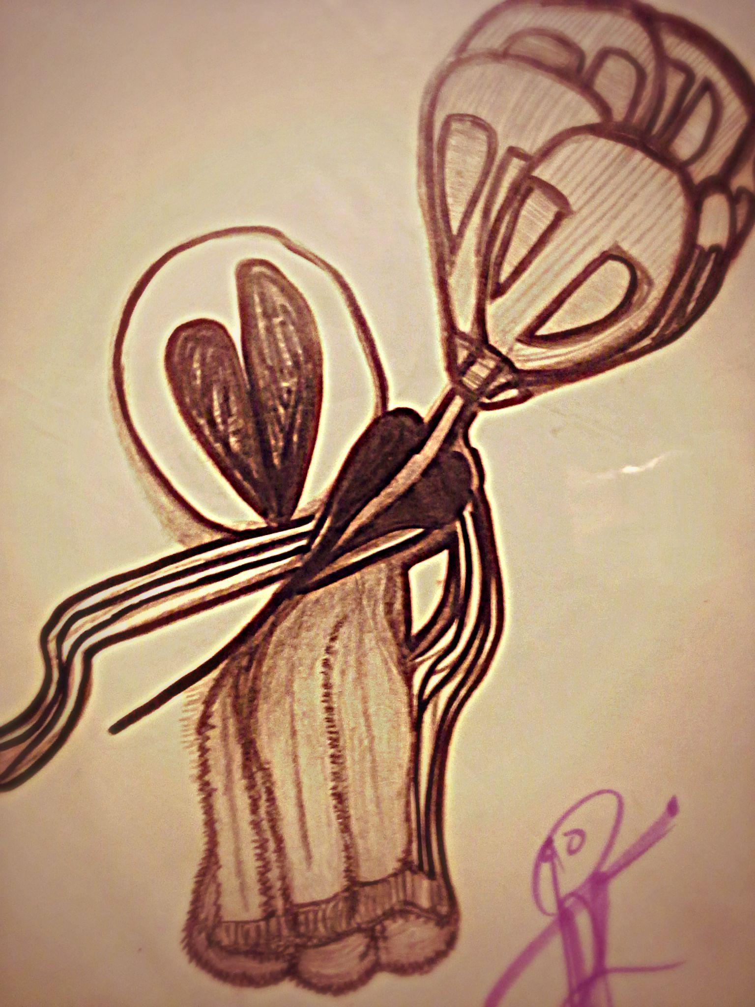 V- drawing