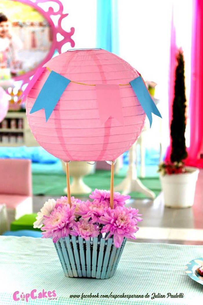 Shabby Chic Hot Air Balloon Party Hot Air Balloon