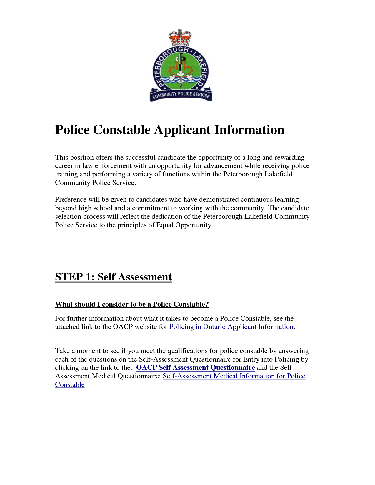 Police Constable Resume By Bdr  Cover Latter Sample
