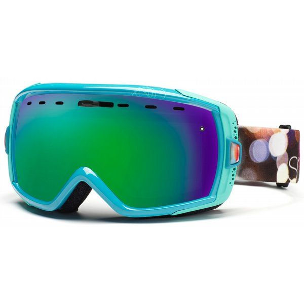 44fcc60a4ca6 Smith Heiress Goggles Ultramarine Night Out Green Sol-X Lens - Women s