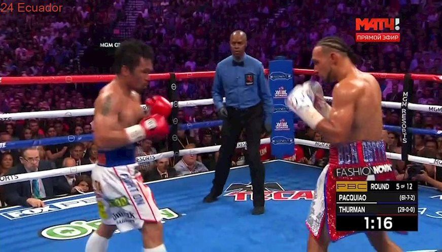 Manny Pacquiao Vs Keith Thurman 20 07 2019 Full Fight Manny Pacquiao Keith Thurman Boxing Fight