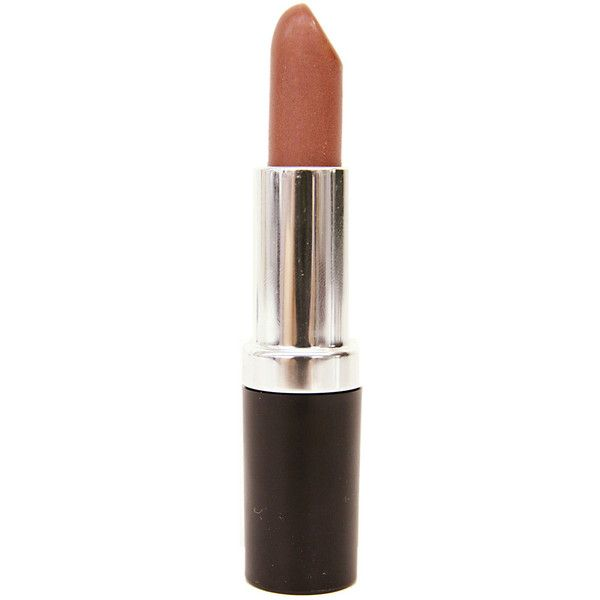Meringue Mineral Lipstick in Peach (46 BRL) ❤ liked on Polyvore featuring beauty products, makeup, lip makeup, lipstick, beauty, fillers, moisturizing lipstick and mineral lipstick