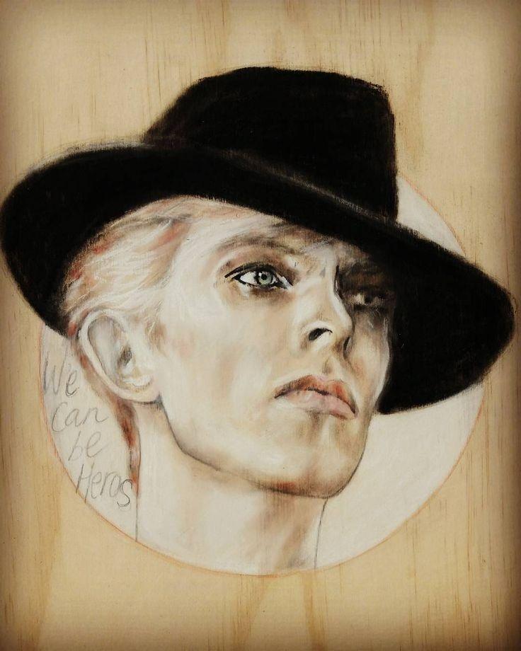David Bowie | Bowie art, David bowie tribute, David bowie art