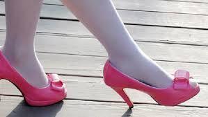 talla 40 b9665 6b35b Resultado de imagen para zapatos con taco para niñas de 10 ...