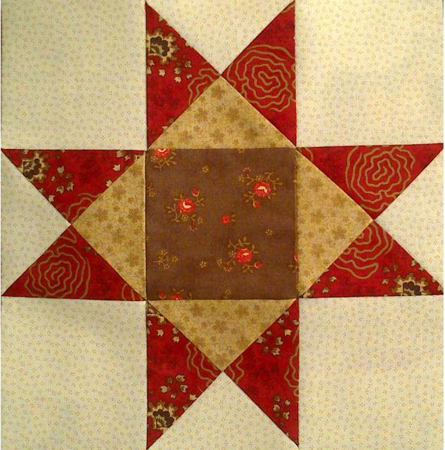 Regalos de tela tutorial estrella de ohio patchwork - Cojines de patchwork ...
