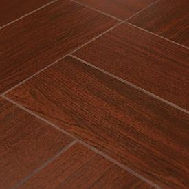 wood look tile brazilian cherry