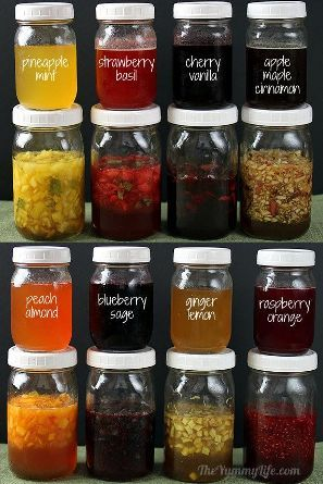 8 Extraordinary Fruit and Herb Honey Syrups. These are delicious natural fruit and herb honey syrup recipes which are easy to make on your own.