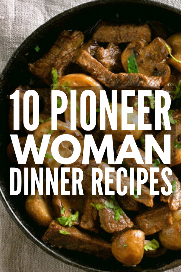Cooking Made Easy: 50 Pioneer Woman Recipes for Every ...