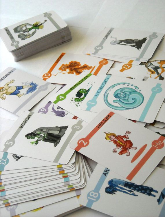 Elements Experiments In Character Design Flash Cards V2