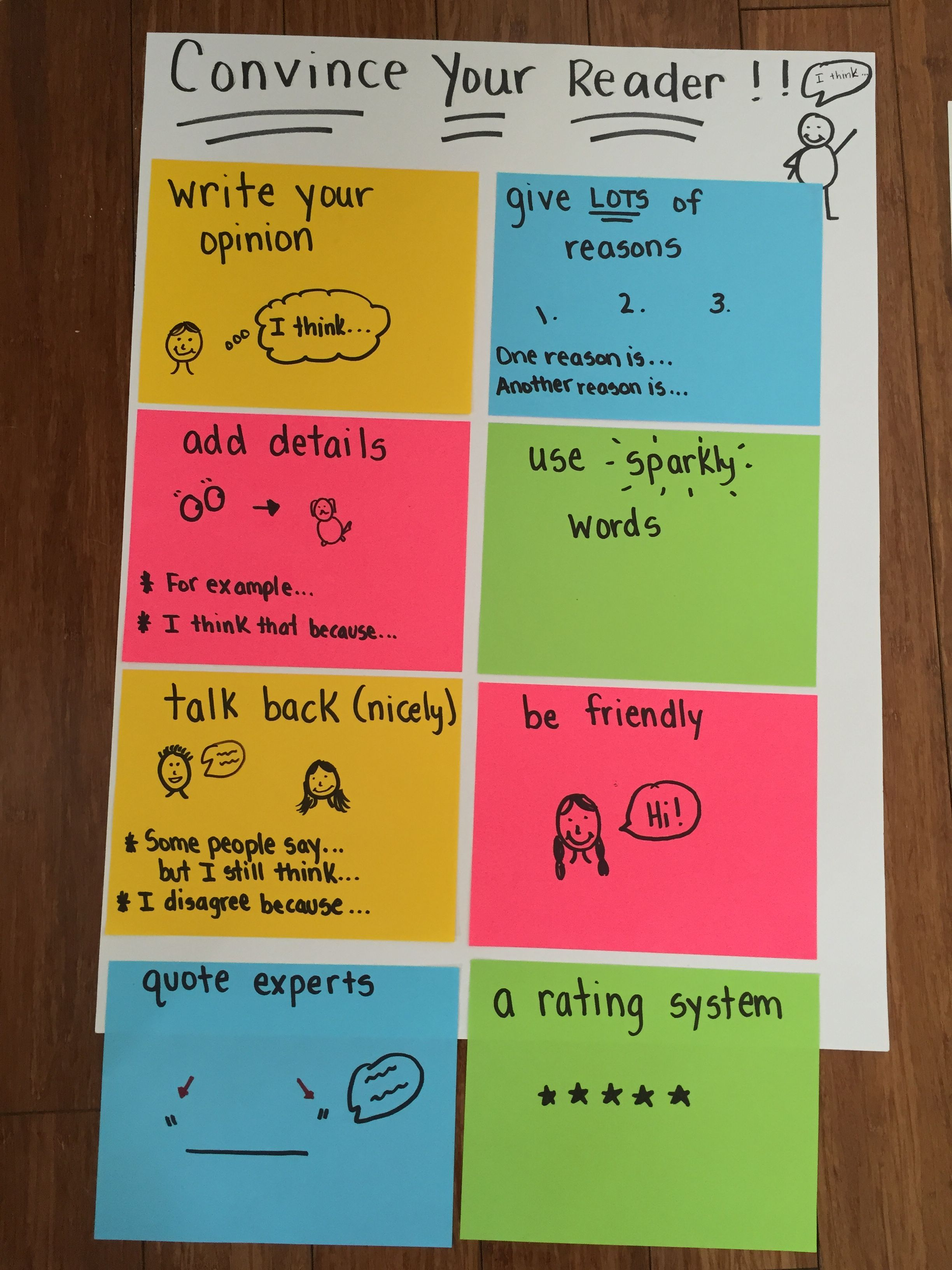 Ways To Be More Convincing Elaboration In Opinion Writing