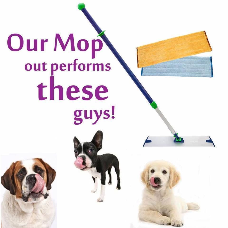mop system by norwex, picks up pet hair so easy save money
