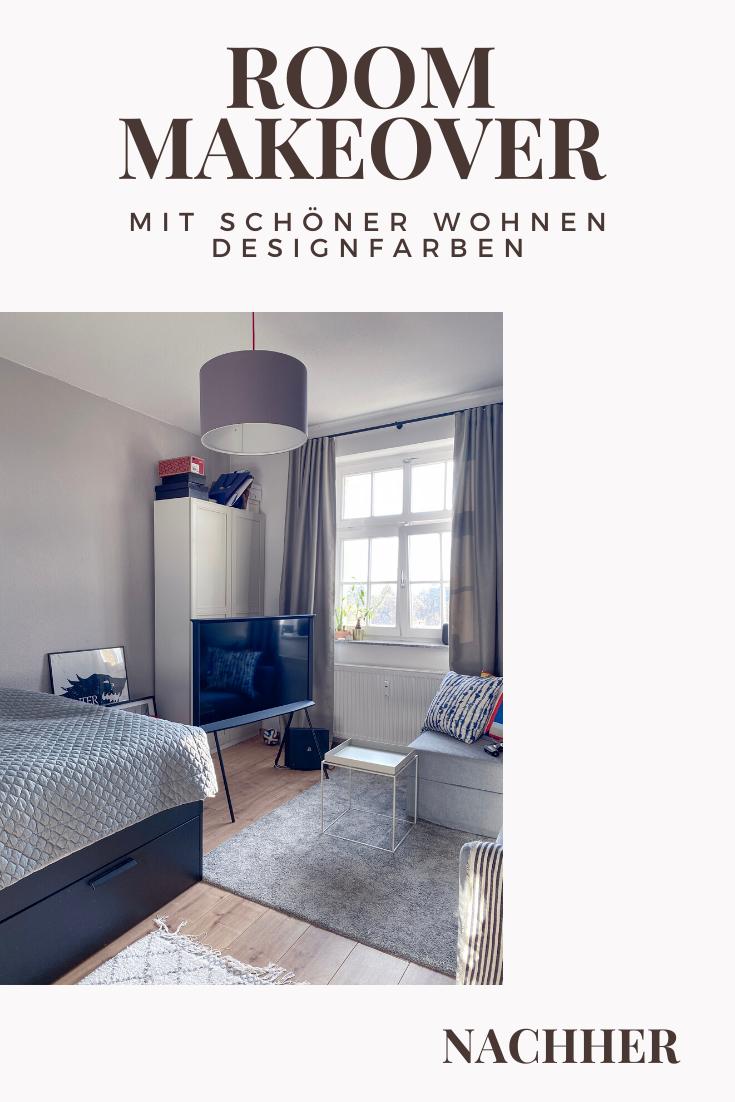 Room Makeover Mit Schoner Wohnen Designfarben Im Teenagerzimmer Schonerwohnen In 2020 With Images Decor Home Decor Home Decor Decals