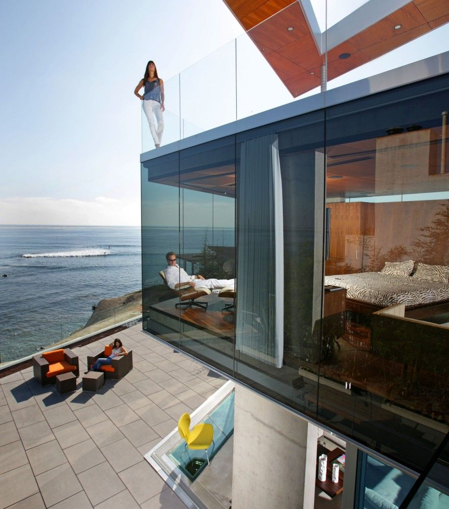 Life by the sea contemporary luxury beach house The Lemperle Residence / Jonathan Segal