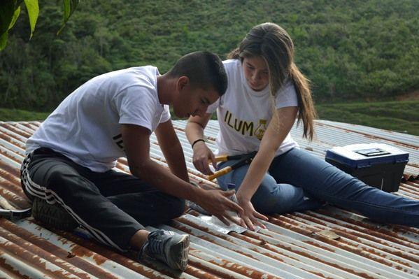 Excombatientes mejoran habitabilidad de comunidades vulnerables