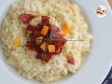 Receta Risotto con queso y chorizo