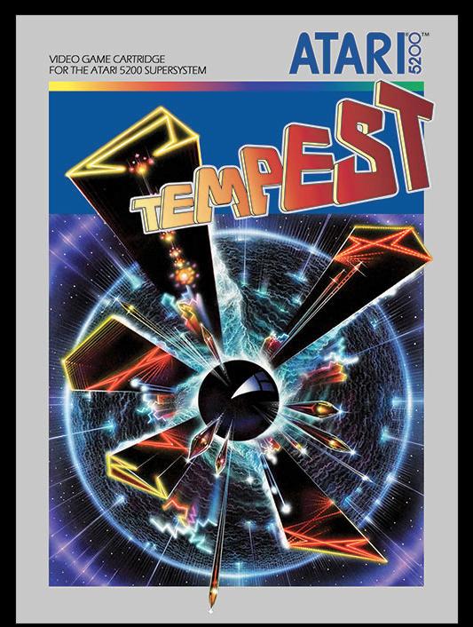 Tempest 2600 5200 Prototype Artwork For Atari Taken From The Excellent Book The Art Of Atari By Tim Lapetino Atari 5200 Classic Video Games Atari Games