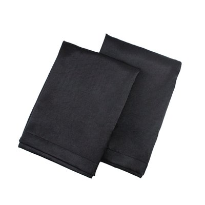 Black Satin Pillowcase Astoria Grand Tiffany Satin Pillowcase Size King Color Black