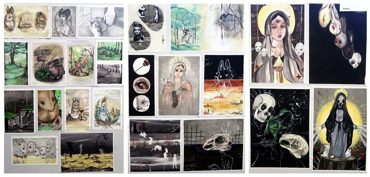 Art Portfolio Theme Ideas