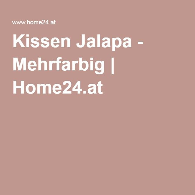 Kissen Jalapa - Mehrfarbig | Home24.at