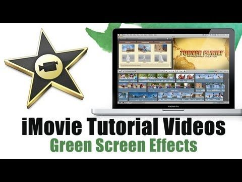How to do iMovie Green Screen - iMovie Tutorial videos