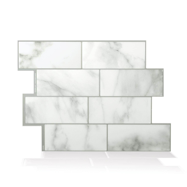 Metro Carrera Carrelage Adhesif Smart Tiles Simplement Peler Et Coller Le Produit Adherera Sans Aucun Avec Images Carrelage Mural Parement Mural Carrelage Mural Adhesif