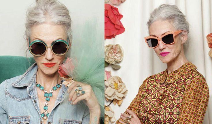 Advance Style women of Ari Seth Cohen blog celebrating style and fashion of over 60s