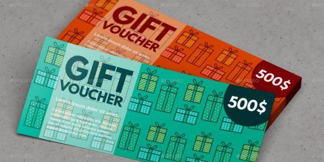 Gift   Discount Voucher Mock-UpDesign Devisers This is not a print - discount voucher design