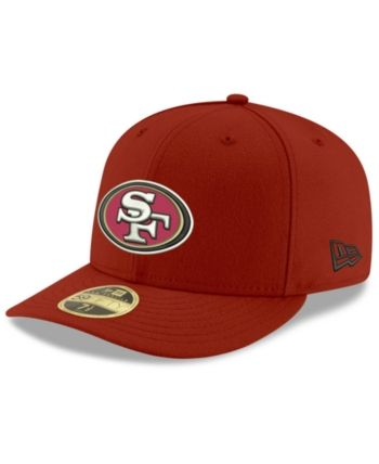 8b5943aab50a6 New Era San Francisco 49ers Team Basic Low Profile 59FIFTY Fitted Cap - Red  7 3 8