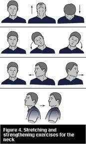 Tensed muscles can be the result of an incorrect posture: stretching exercises for the neck to relax the muscles