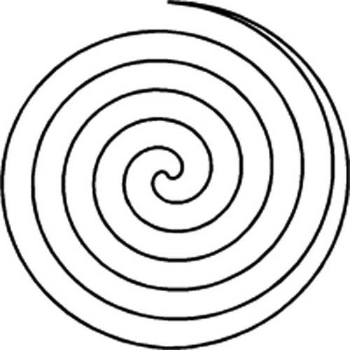 spiral circle stencil product details keepsake quilting quilting free motion quilting. Black Bedroom Furniture Sets. Home Design Ideas
