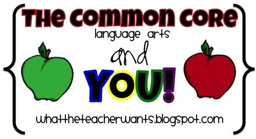 What the Teacher Wants!: Lessons for Common Core