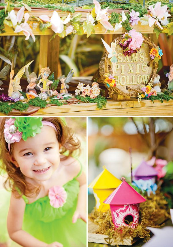 Adorable Disney Parties - Pixie Hollow