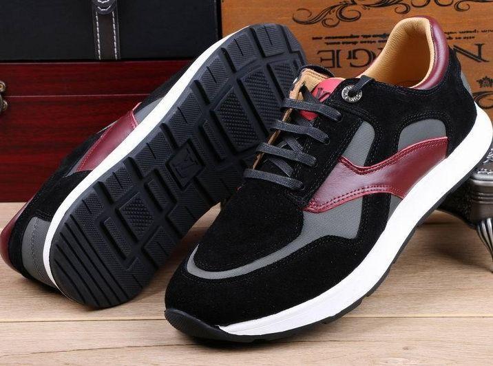 Louis Vuitton Run Away Sneaker Black