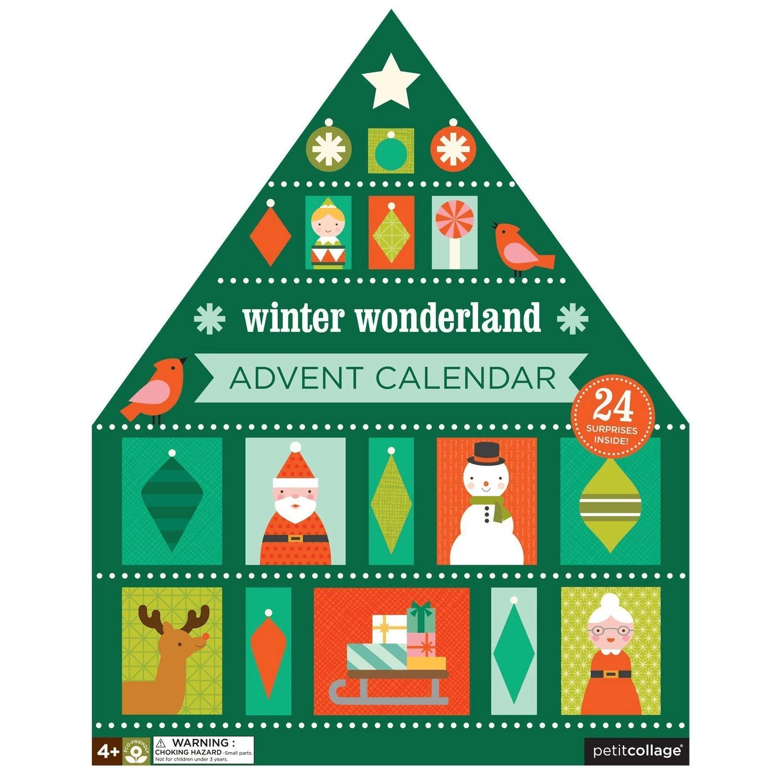 Petit Collage Advent Calendar