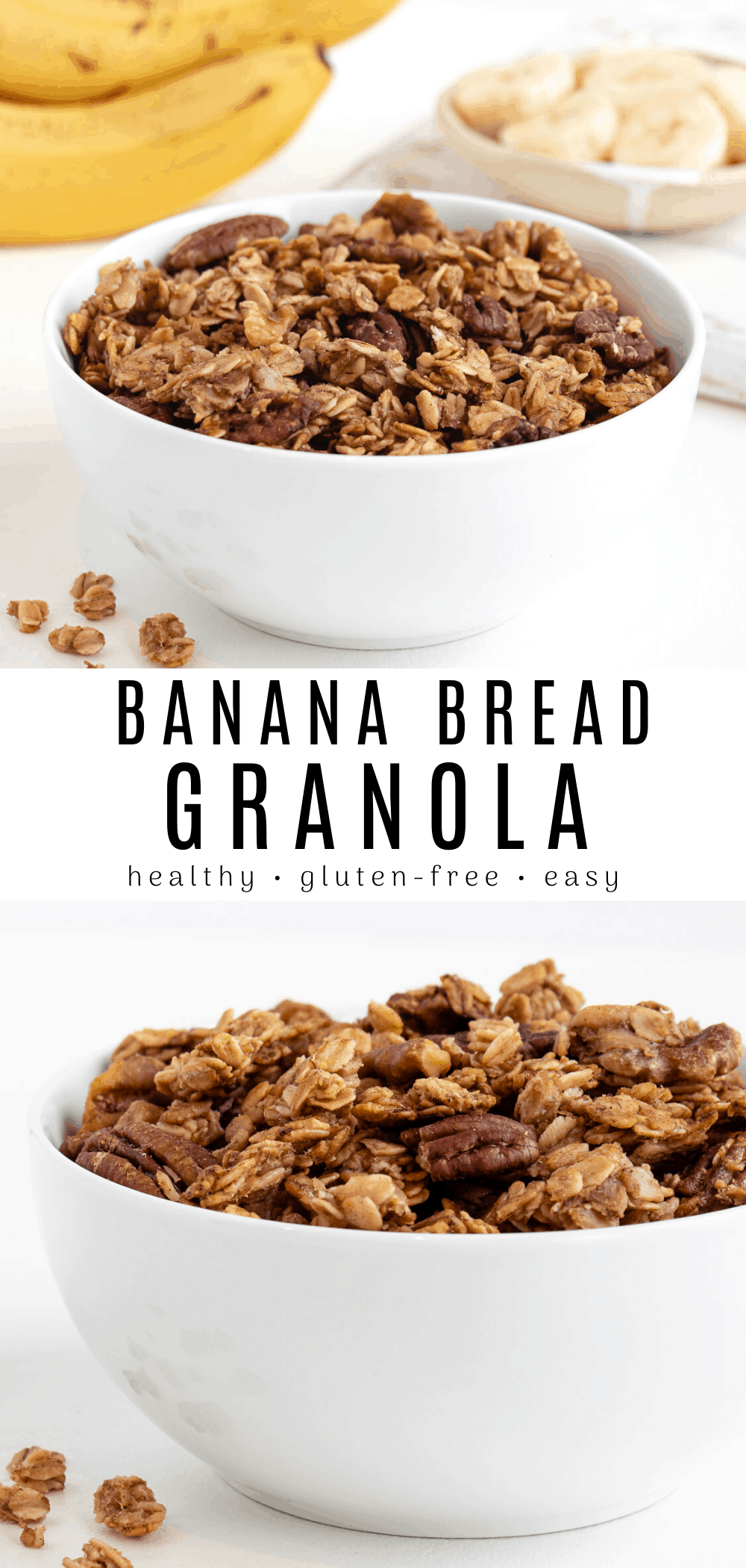 Banana Bread Granola | Recipe in 2020 (With images ...