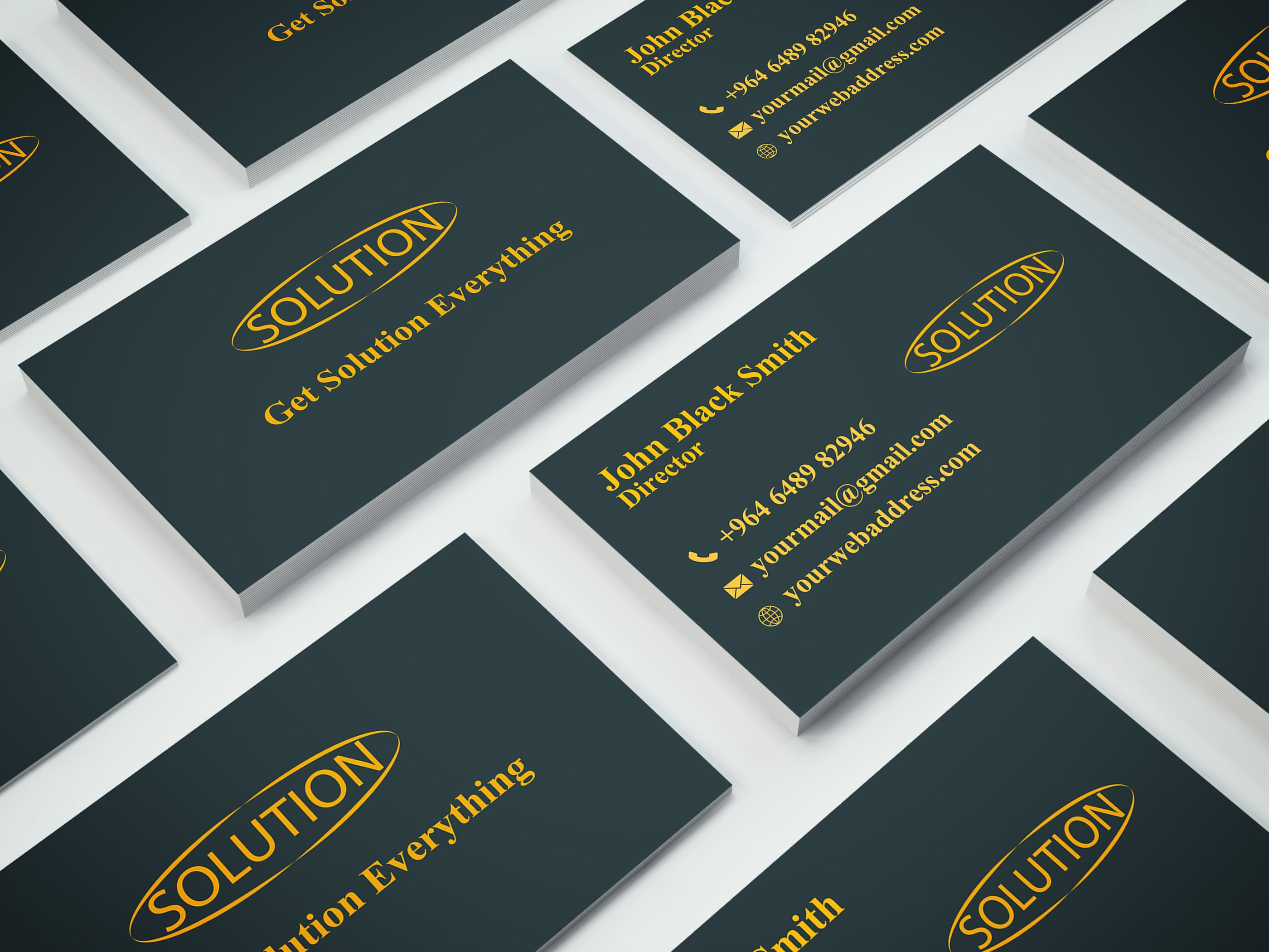 One color simple business card one color business card one color simple business card reheart Image collections