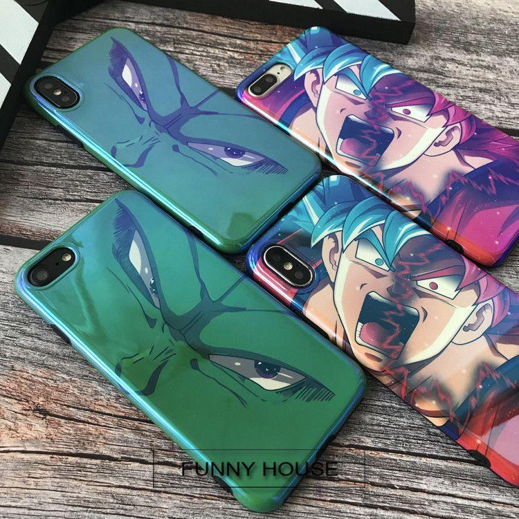 Dragon Ball Z Soft Case Son Goku Super Saiyan Back Cover IPhone 6 6S Plus 7 8 X