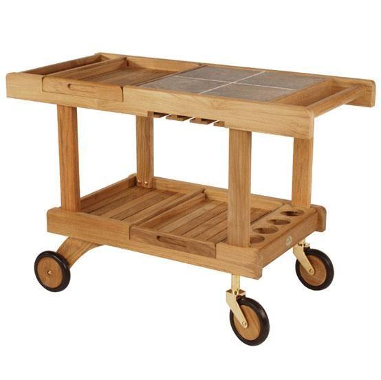 10 Easy Pieces Outdoor Bar Carts Wicker furniture