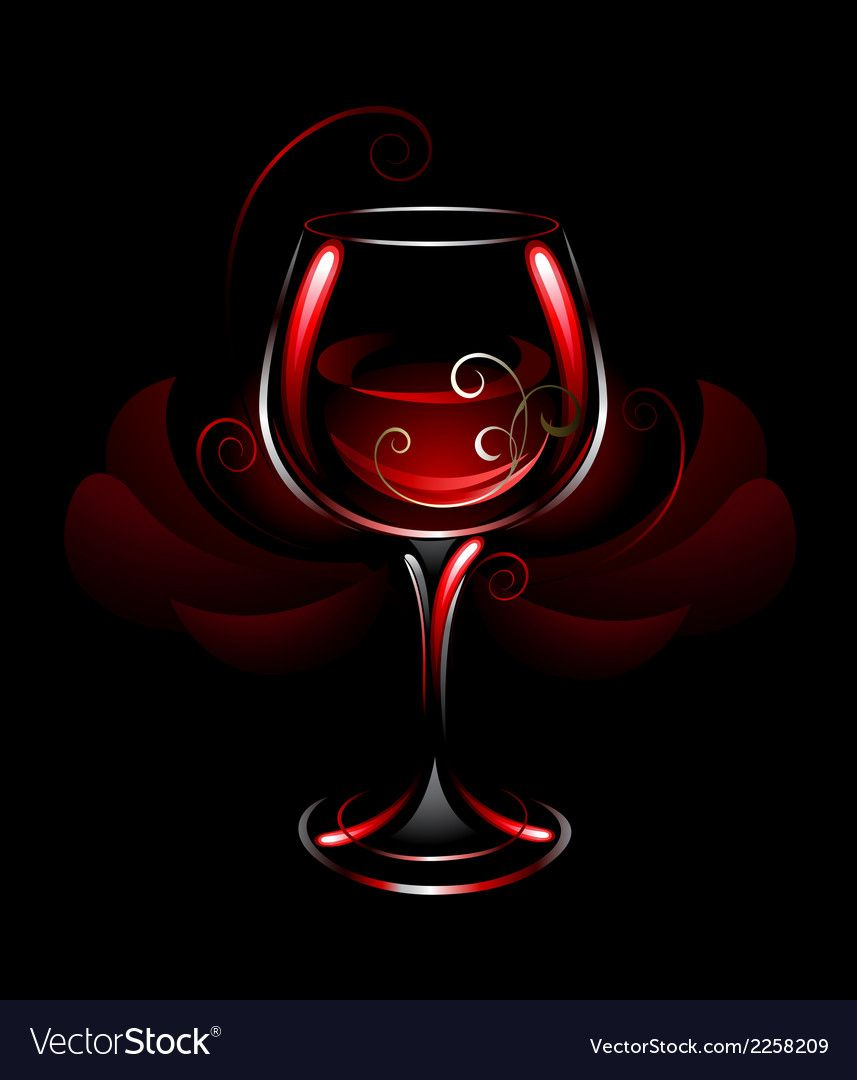 Wineglass Of Red Wine Royalty Free Vector Image Ad Wine Red Wineglass Royalty Ad Paint Vector Vector Vector Images