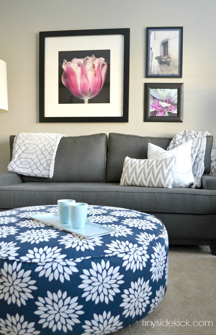 Bold And Bright Living Room Makeover  Before & After  Living Prepossessing Living Room Makeover Decorating Design