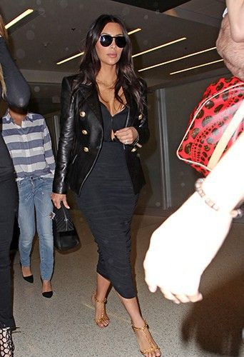 Kim Kardashian à Miami le 11 mars 2014